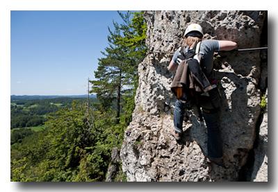 Klettersteig Fränkische Schweiz : Klettersteig höhenglücksteig gipfelbuch
