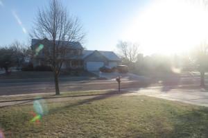 Kaaalt, aber Sonne!