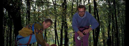 Klettern anno 1990