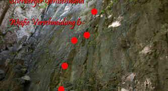 Stierberger Gemsenwand - Helmpflicht