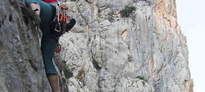 Kroatien - Paklenica, 2. Klettertag