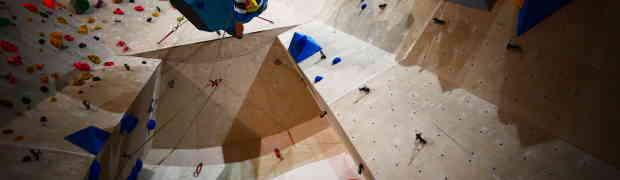 Die High-east Kletterhalle präsentiert den Teamklettercup